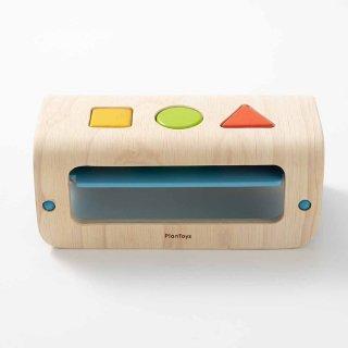 [1歳半-]シェープアンドソート〈木製型はめパズル〉PLANTOYS