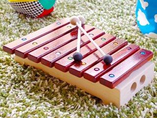 [1歳-]grillo グリッロ〈木琴のおもちゃ〉Mastro Geppetto