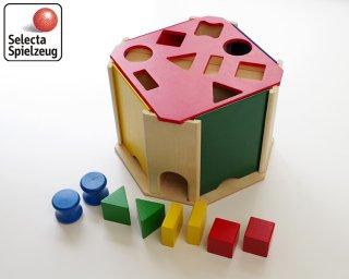 [1歳半-]クアトリノ〈木製型はめパズル〉SELECTA