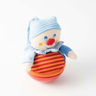 [0歳 6ヶ月-]おきあがり人形・キャスパー〈布のおもちゃ〉HABA