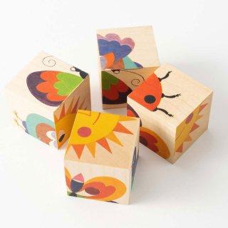 [3歳-]六面体パズル ナチュラル〈木製絵合わせパズル〉 Atelier Fischer