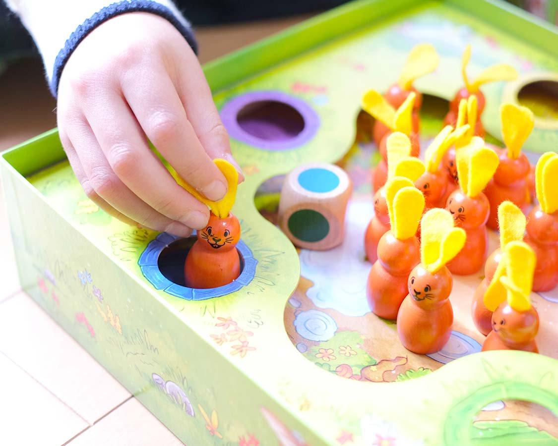 2歳のおもちゃ うさぎのニーノ