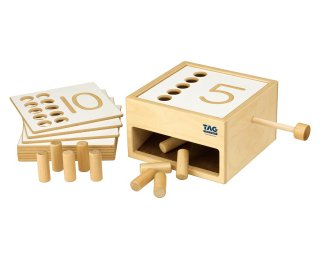 [3歳-]転がり落ちてくる数の箱 TAG