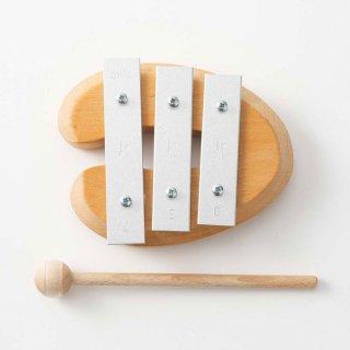 [2歳-]デコアの鉄琴・ドミソ〈楽器のおもちゃ〉DECOR