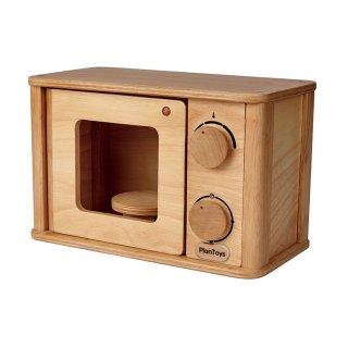 [3歳-]プラントイ 電子レンジ〈ままごとキッチン〉PLANTOYS