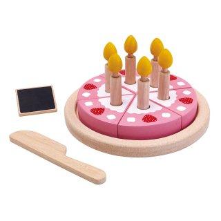 [2歳-]バースデーケーキセット〈ままごとキッチン〉PLANTOYS