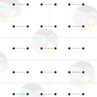 [3歳-]ぬいさし台紙・基本と図形 15パターン+1〈モンテッソーリのお仕事〉BabyMobile ダウンロードコンテンツ