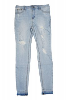 CLASH STRETCH JEANS LIGHT BLUE