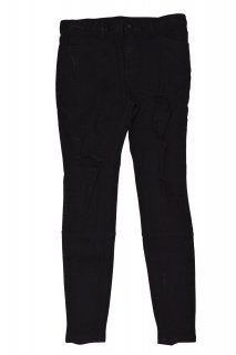 CLASH STRETCH BLACK JEANS