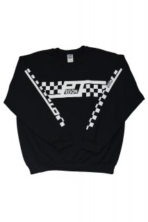 PRISON CHECKERED CREWNECK SWEATSHIRT