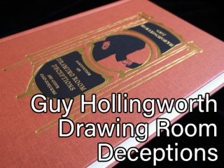 【洋書】Drawing Room Deceptions by Hollingworth