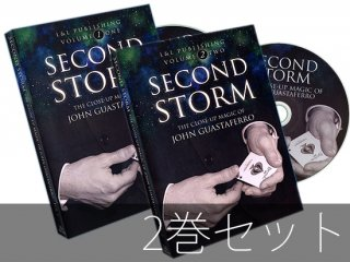 【2枚セット】Second Storm Vol.1&2(セカンドストーム1&2)  by John Guastaferro