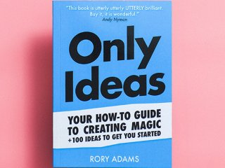 【洋書】Only Ideas by Rory Adams