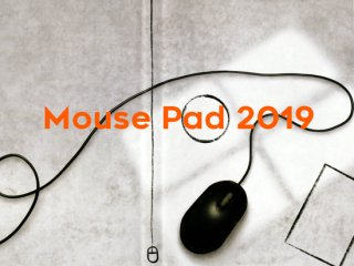Mouse Pad 2019