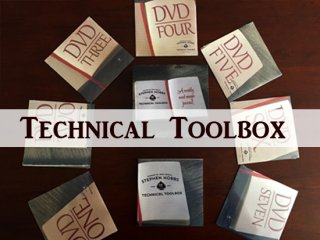 【DVD7枚+ノート】Technical Tool Box by Stephen Hobbs