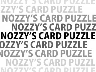 NOZZY'S CARD PUZZLE