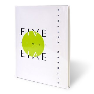【洋書】Five Times Five (Japan Edition) by Richard Kaufman