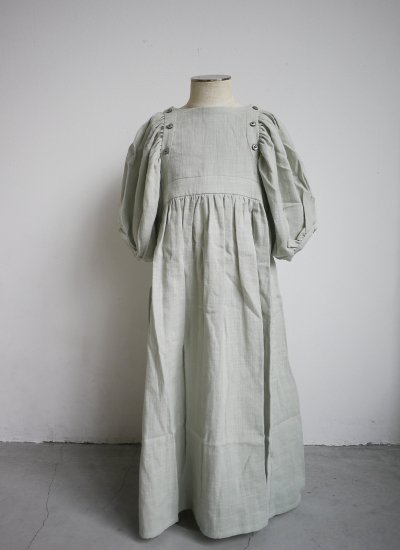 pajama dress / pale green