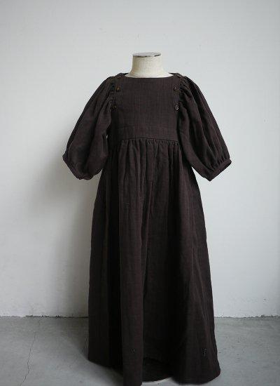 pajama dress / chocolate