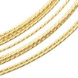 14K Gold filled (14kgf) グリッター ハード ワイヤー 30.5cm / 10本