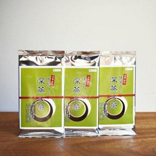 宇治抹茶入り深蒸し茶(50g×3袋)