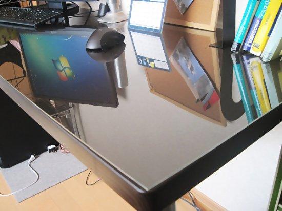 テーブルマット600mm900mm 板厚4mm アクリル板透明 Or ガラス色