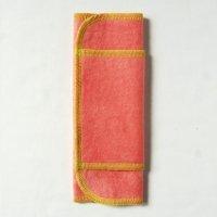 ふつうの日用(M)茜染め 糸:黄緑