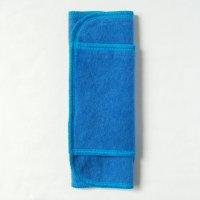 ふつうの日用(M)藍染め 糸:ターコイズブルー