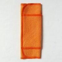 ふつうの日用(M)茜+ウコン染め 糸:オレンジ