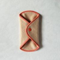 ボタン付ライナー(BL)びわ染め 糸:コーラルピンク