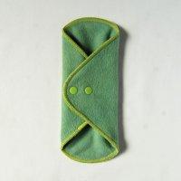 ワイドライナー(WBL)えんじゅ+藍染め 糸:黄緑
