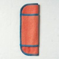 少ない日用(S)茜染め 糸:ターコイズ