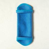 ホルダー(H)藍染め 糸:ターコイズ