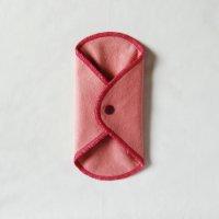 ボタン付ライナー(BL)すおう染め 糸:ローズピンク