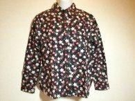 衣櫻 「麻の葉×桜」和柄長袖シャツ