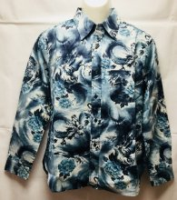 衣櫻「龍虎 長袖 レギュラーシャツ」
