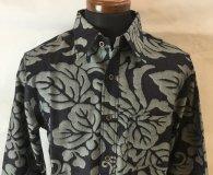 衣櫻 長袖レギュラーシャツ「ozデニムJQ鳳凰長袖シャツ」
