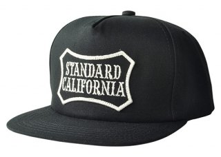 <img class='new_mark_img1' src='//img.shop-pro.jp/img/new/icons16.gif' style='border:none;display:inline;margin:0px;padding:0px;width:auto;' />SD Logo Wappen Canvas Cap【STANDARD CALIFORNIA(スタンダードカリフォルニア)】 通販