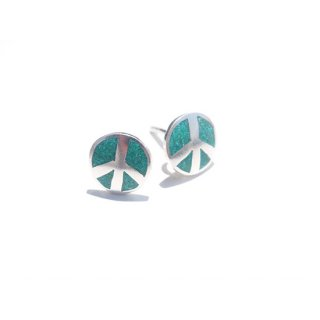 PEACE PIERCED EARRINGS【HOLLYWOOD RANCH MARKET(ハリウッドランチマーケット)】 通販
