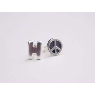 HRM H PIERCED EARRINGS【HOLLYWOOD RANCH MARKET(ハリウッドランチマーケット)】 通販