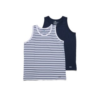 FRUIT OF THE ROOM×BLUE BLUE 2PACK TANK TOP【BLUE BLUE(ブルーブルー)】 通販