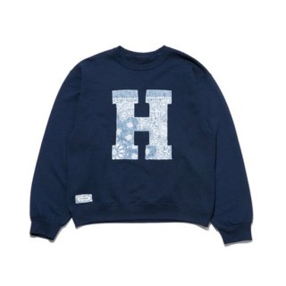 HRR H PATCH CREW NECK SWEAT 【H.R.REMAKE(HRリメイク)】 通販