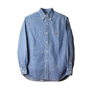 SD Denim Button Down Shirt Vintage Wash 【STANDARD CALIFORNIA(スタンダードカリフォルニア)】 通販