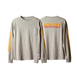 SANTA CRUZ SKATEBOARDS×SD USA Heavyweight Pocket Long Sleeve T STANDARD CALIFORNIA スタンダードカリフォルニア 通販