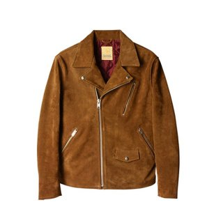 <img class='new_mark_img1' src='//img.shop-pro.jp/img/new/icons16.gif' style='border:none;display:inline;margin:0px;padding:0px;width:auto;' />SD Cow Suede Double Riders Jacket 【STANDARD CALIFORNIA(スタンダードカリフォルニア)】 通販