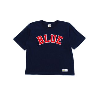 RUSSELL×BLUEBLUE WOMENS        BLUE PATCH S/S T-SHIRTS【BLUE BLUE(ブルーブルー)】 通販