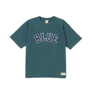 RUSSELL×BLUEBLUE BLUE PATCH S/S T-SHIRTS 【BLUE BLUE(ブルーブルー)】 通販