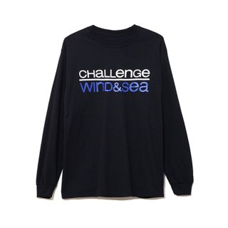 Long Sleeve Cut-Sewn CHALLENGE 【WIND AND SEA(ウィンダンシー)】 通販