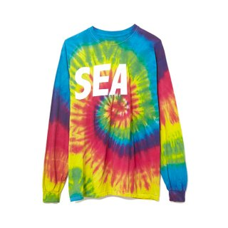 <img class='new_mark_img1' src='//img.shop-pro.jp/img/new/icons47.gif' style='border:none;display:inline;margin:0px;padding:0px;width:auto;' />Long Sleeve Cut-Sewn TIEDYE 【WIND AND SEA(ウィンダンシー)】 通販