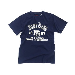 <img class='new_mark_img1' src='//img.shop-pro.jp/img/new/icons16.gif' style='border:none;display:inline;margin:0px;padding:0px;width:auto;' />Cross BB Tシャツ【BLUE BLUE(ブルーブルー)】 通販